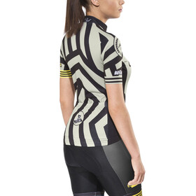 guilty 76 racing Velo Club Pro Race - Maillot manches courtes Femme - gris